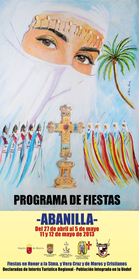Cartel Fiestas Abanilla 2013