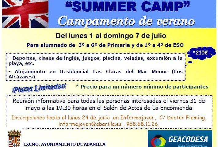 campamento de verano 2013