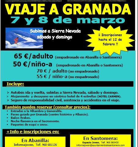 Viaje Granada 2015