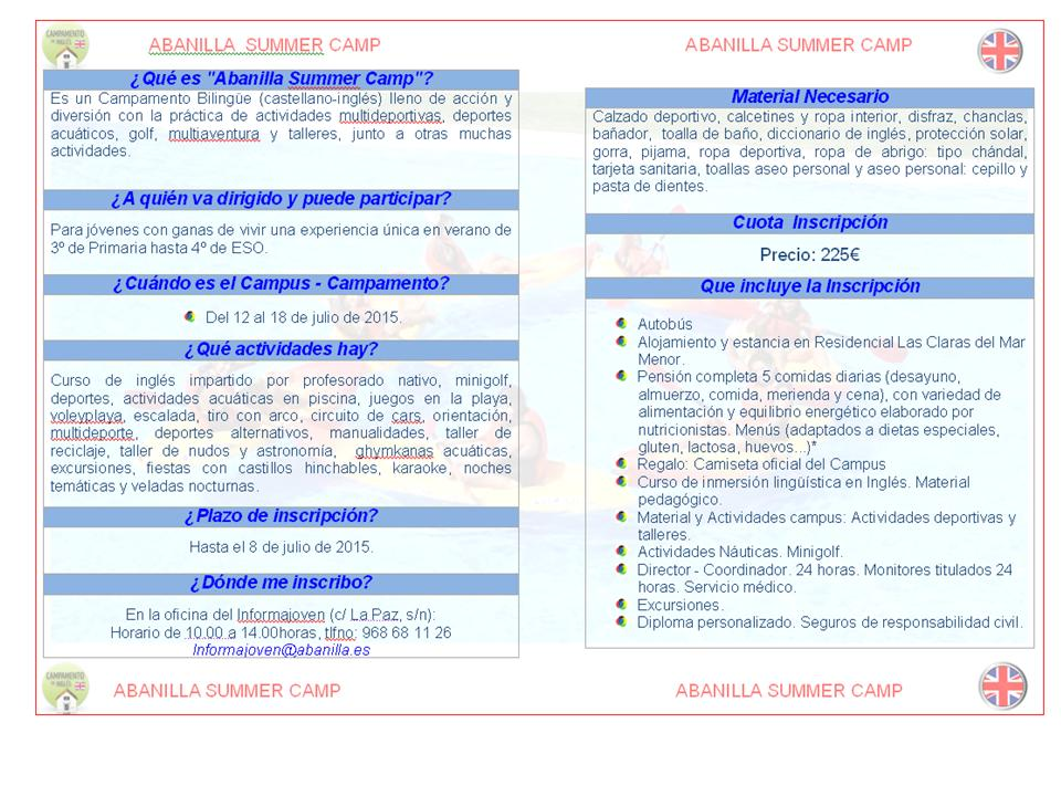 ABANILLA SUMMER CAMP2