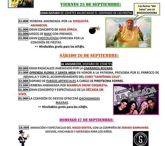 CARTEL FIESTAS DEL SALADO ALTO 2015