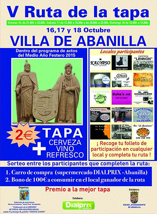 Cartel Abanilla BAJA 1