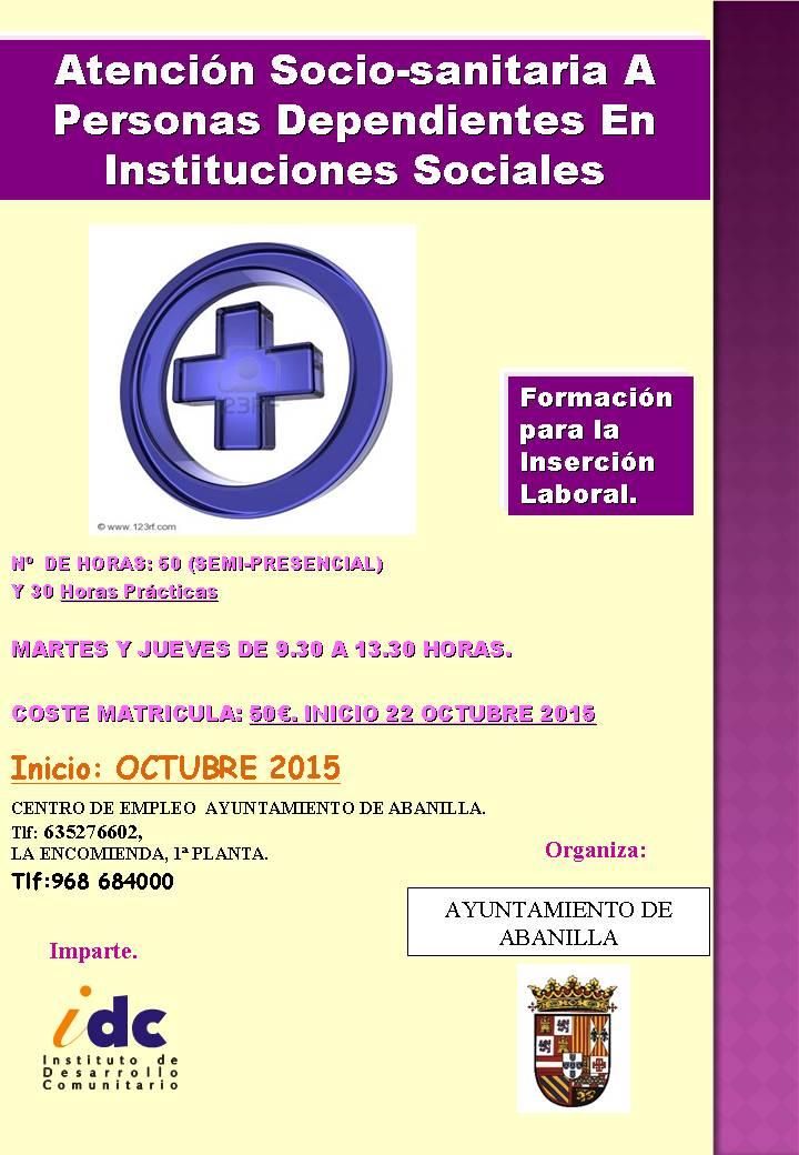 apoyo psicosocial Abanilla 2015