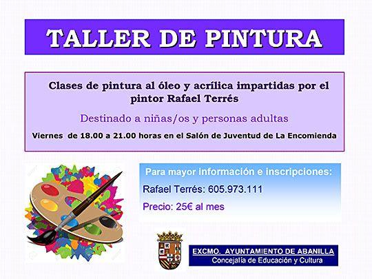 TALLER DE PINTURA2015