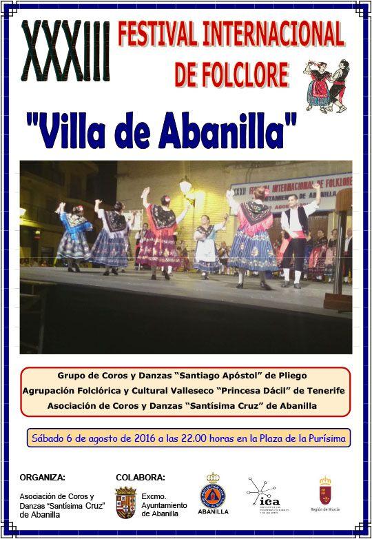 cartel festival folklorico 2016