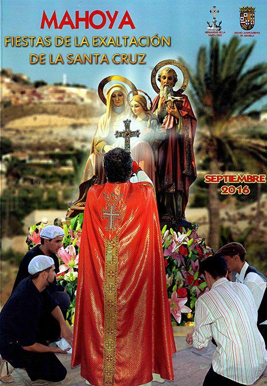 Portada Fiestas Mahoya 2016