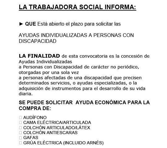 CARTEL SUBVENCION SERVICIOS SOCIALES