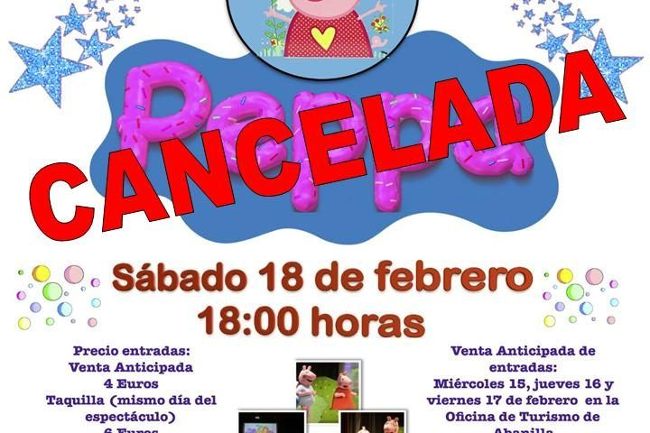 Peppa Pig cancelada