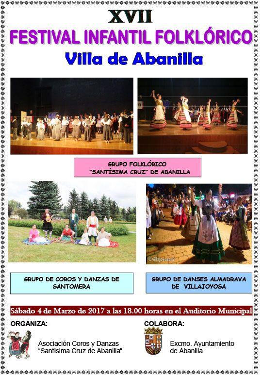 XVII FESTIVAL INFANTIL DE COROS Y DANZAS