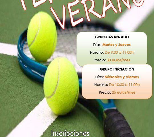Cartel tenis verano2017