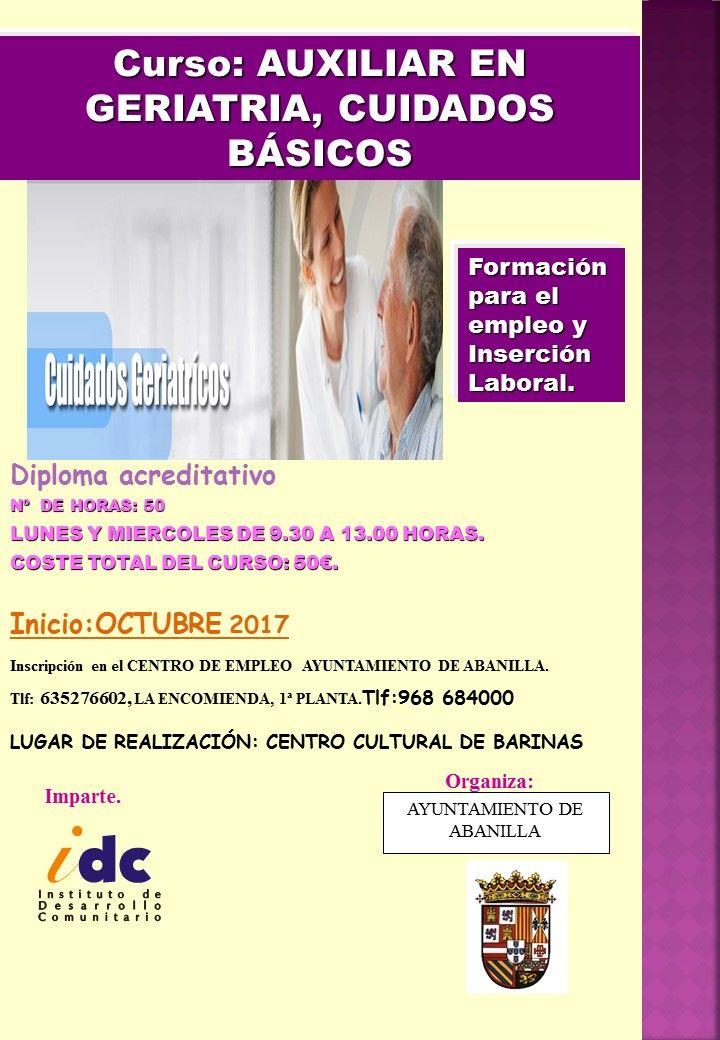 2017 CARTEL BARINAS cuidados geriatricos