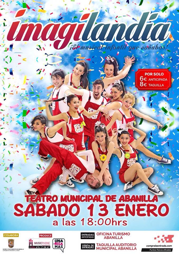 Musical Imagilandia 13 de enero