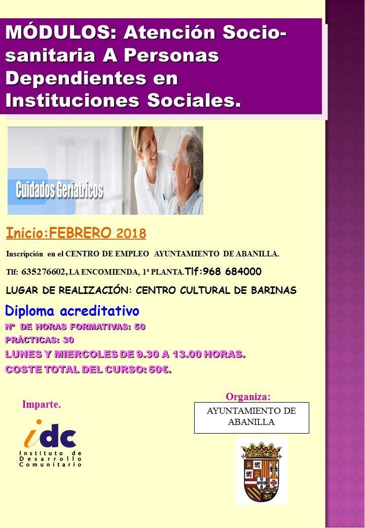 2018 CARTEL BARINAS ATENCION SOCIO SANITARIA