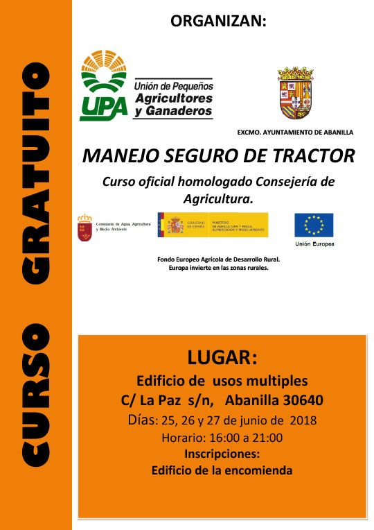 Curso Manejo SeguroTractor 25 06 2018