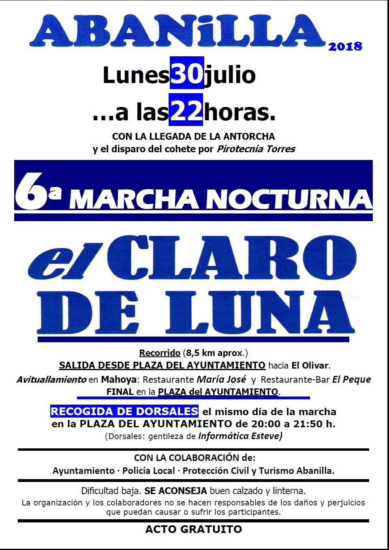 cartel Claro de Luna