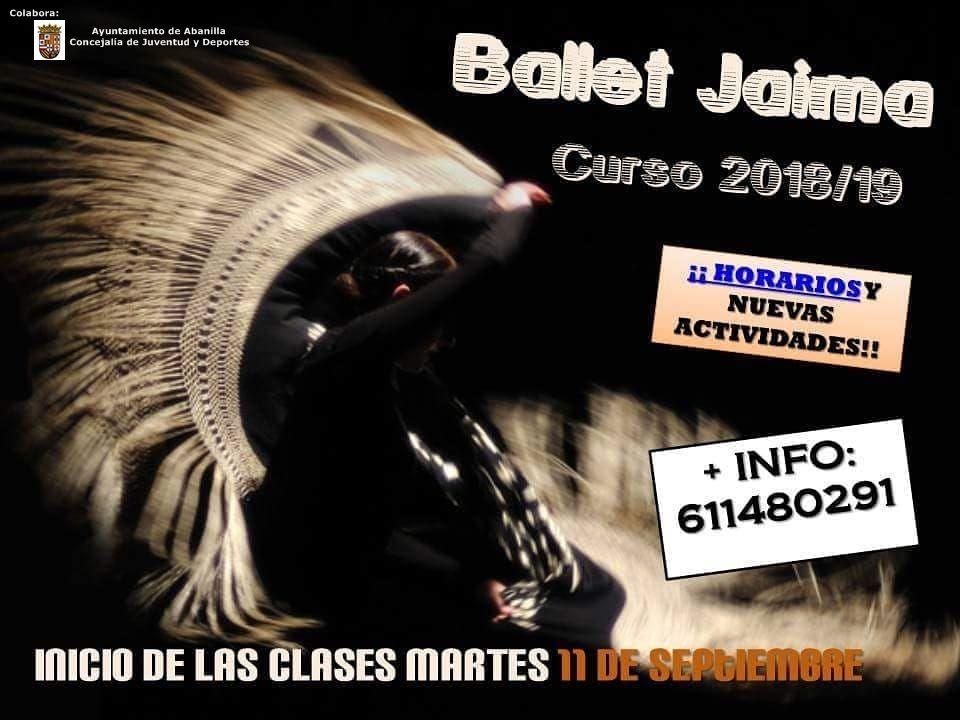 Ballet Jaima Curso 2018 19