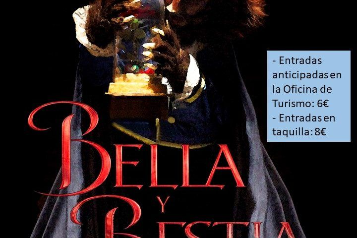 cartel musical bella y la bestia