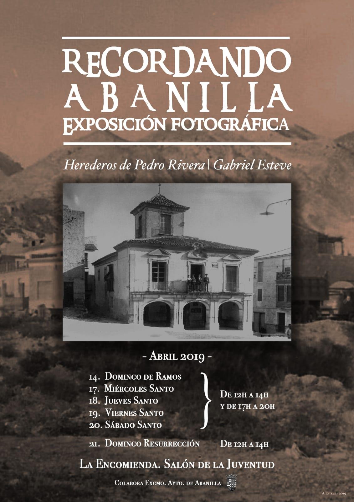 Exposición fotográfica recordando Abanilla