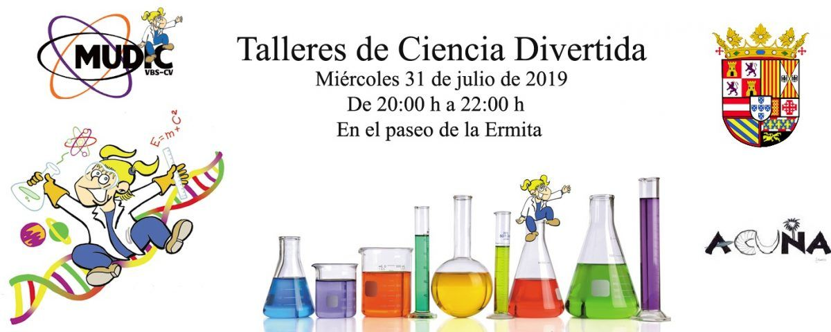 Cartel de Ciencia Divertida 23 7 19 Abanilla