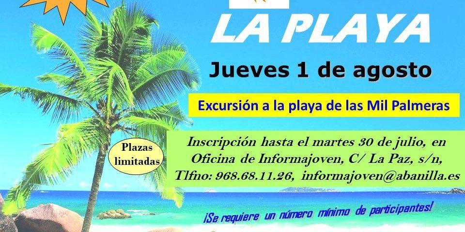 viaje a la playa jueves 1 de agosto