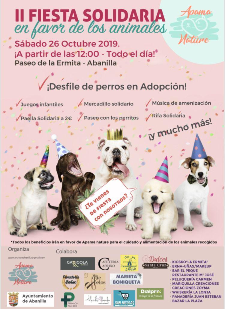 Fiesta solidaria Animales 2019