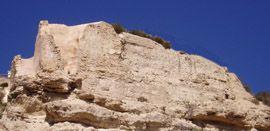 Restos del castillo o alcazaba de Abanilla
