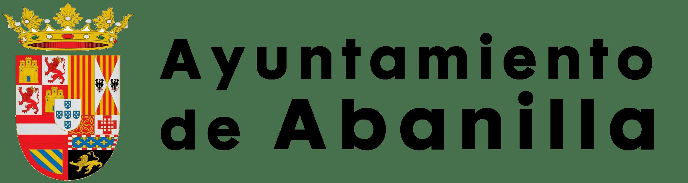 Logo AytoAbanilla negro