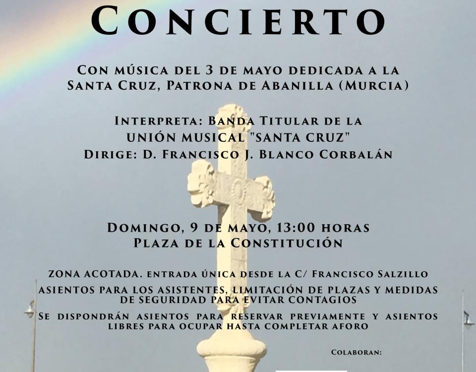 Cartel concierto 09 05 2021